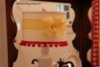 Daisy Cottage Lampshade