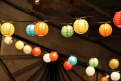 Paper Lanterns from Apartment Therapy
