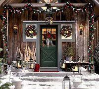 Christmas-Doors-with-Christmas-Wreath-1